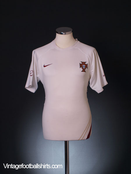 2006-08 Portugal Player Issue Training Shirt M