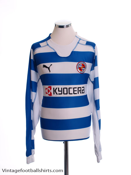 2006-08 Reading Home Shirt L/S *Mint* L