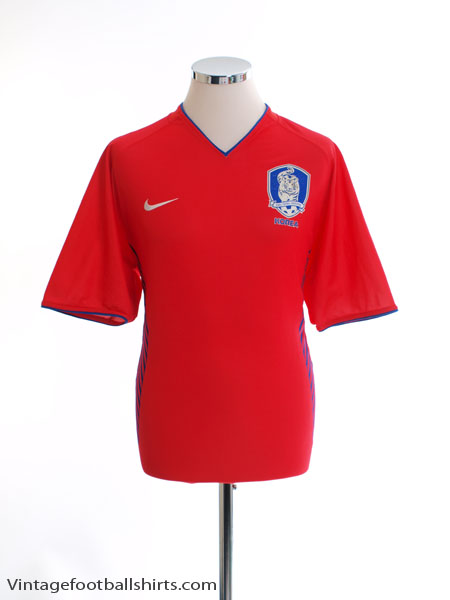 2006-08 South Korea Home Shirt L