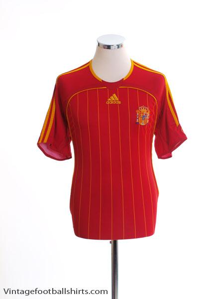 2006-08 Spain Home Shirt L