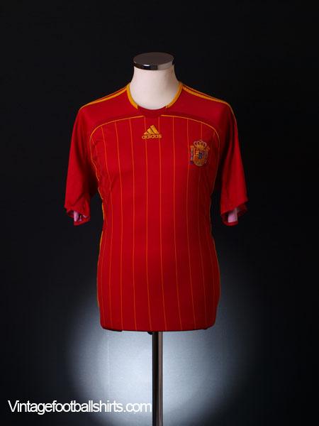 2006-08 Spain Home Shirt XS