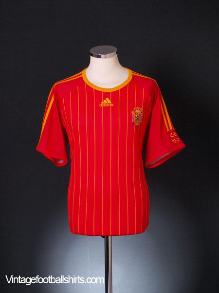 2006-08 Spain Home T-Shirt XL