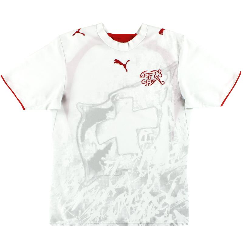 2006-08 Switzerland Puma Away Shirt S - 732046