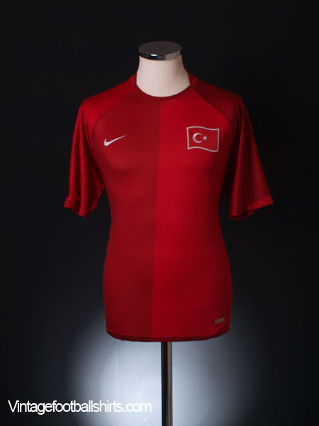 2006-08 Turkey Home Shirt M