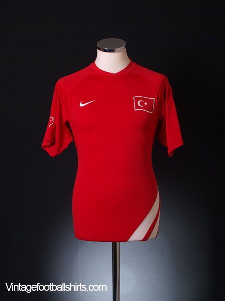 2006-08 Turkey Training Shirt M