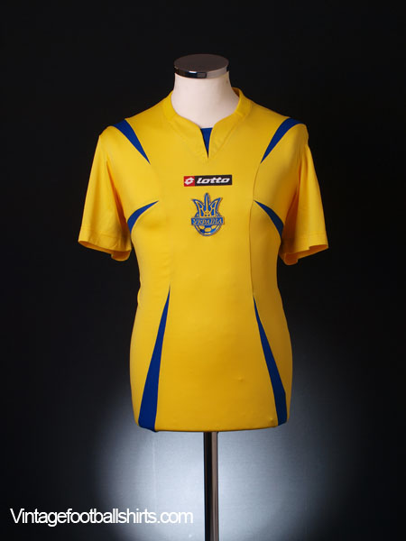 2006-08 Ukraine Home Shirt XL