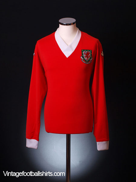2006-08 Wales Home Shirt *No12* *LS* XXL