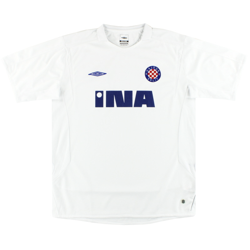2006-10 Hajduk Split Umbro Home Shirt XL