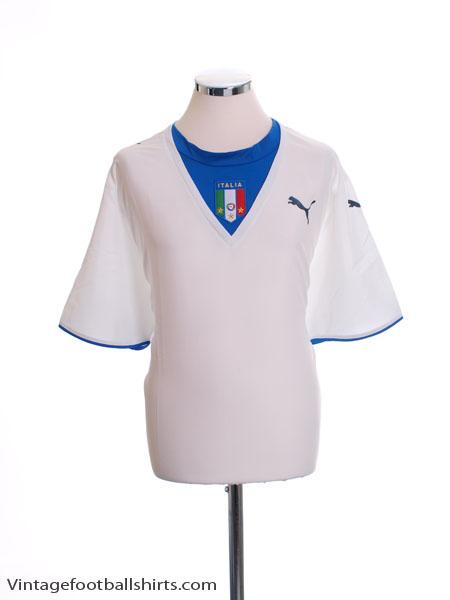 2006 Italy Away Shirt XL - 731948