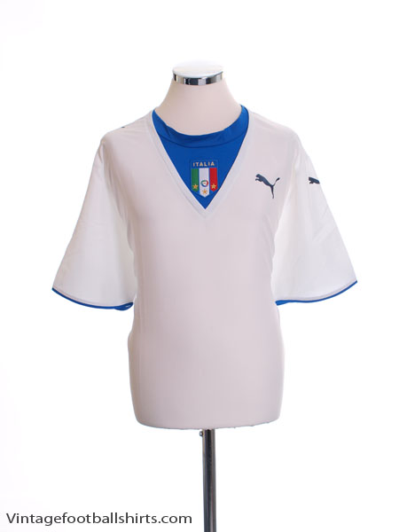 2006 Italy Away Shirt XL - 731948