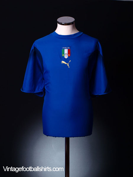 2006 Italy Home Shirt M