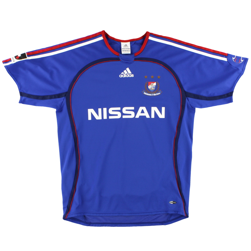 2006 Yokohama F. Marinos adidas Home Shirt M