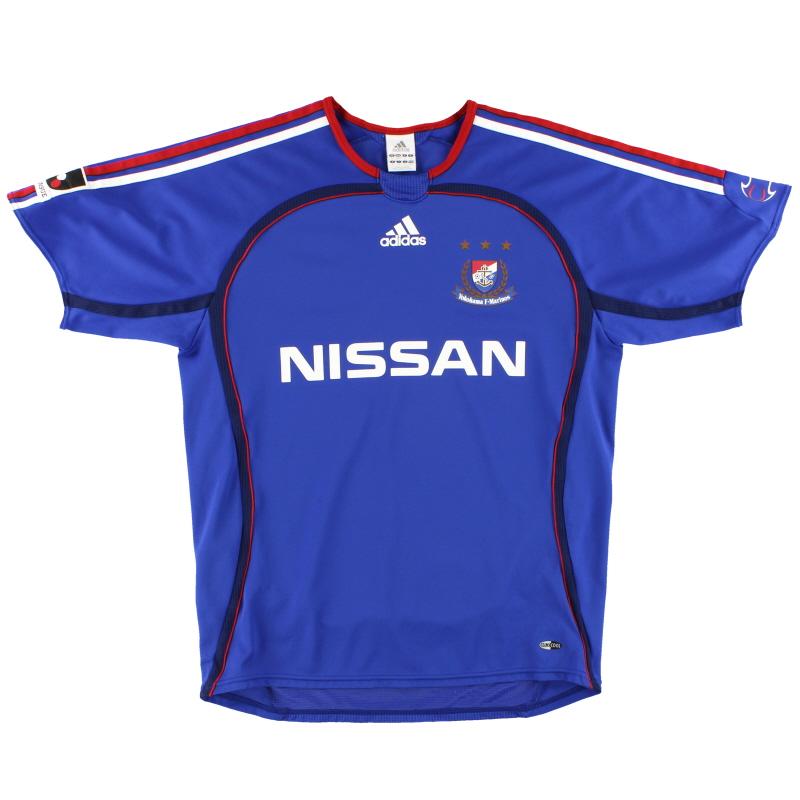 2006 Yokohama F. Marinos adidas Home Shirt S - 817971