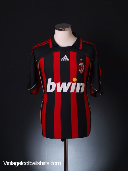 2006-07 AC Milan Home Shirt L