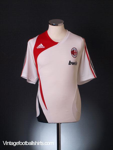 2007-08 AC Milan Player Issue Training Shirt L