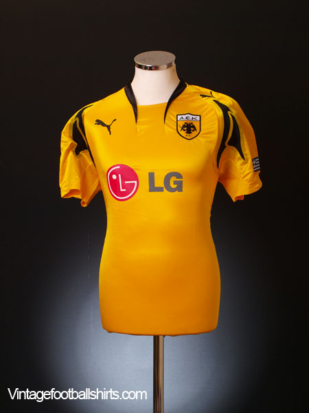 2007-08 AEK Athens Home Shirt *BNIB*