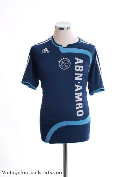 2007-08 Ajax Away Shirt XL