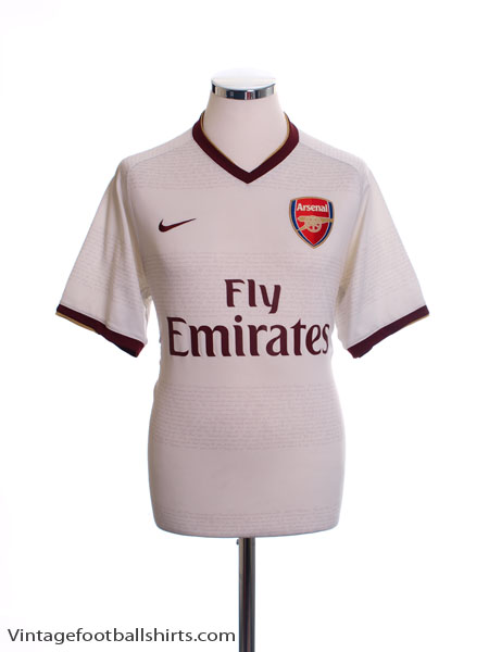 2007-08 Arsenal Away Shirt L