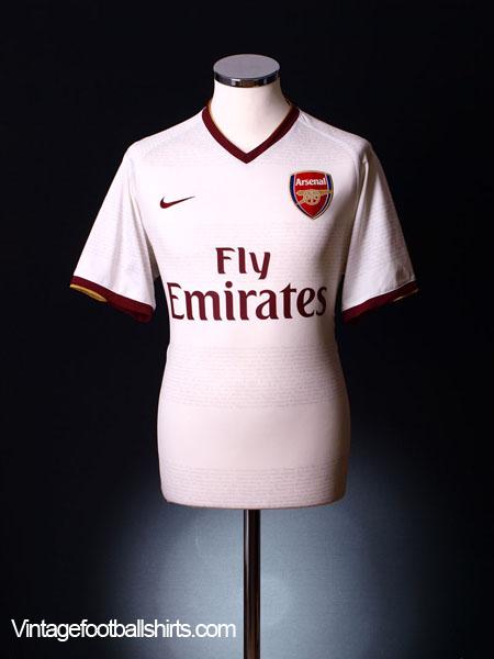 2007-08 Arsenal Away Shirt S