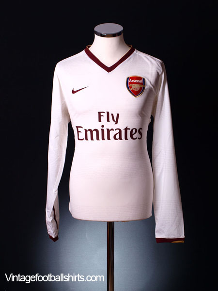 2007-08 Arsenal European Player Issue Away Shirt L/S *BNIB* L