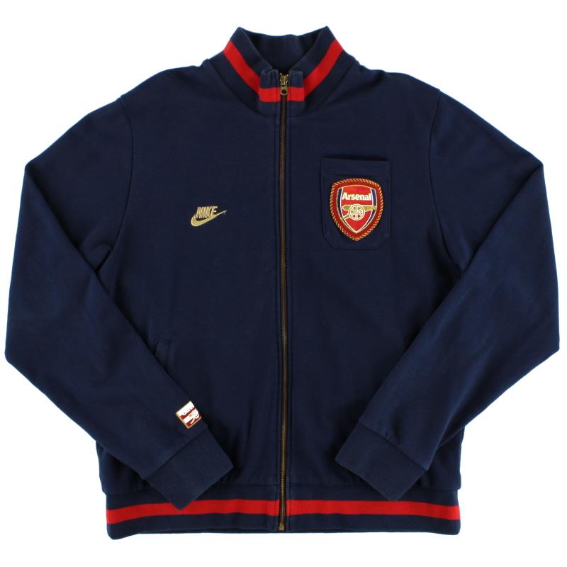 2007-08 Arsenal Nike Full-Zip Track Top M - 206297-451