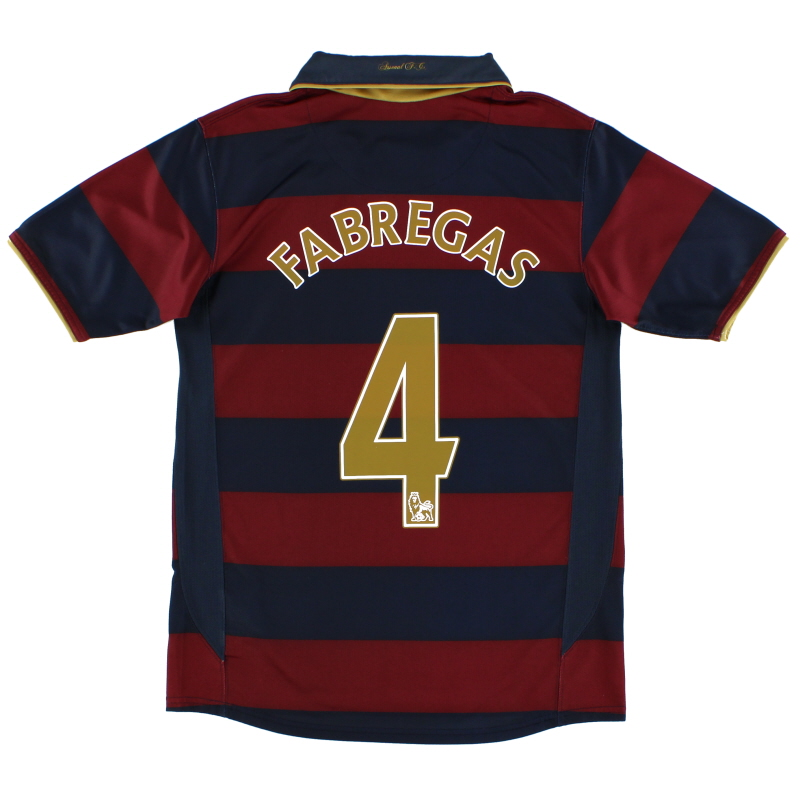 d40d47f6c2f 2007-08 Arsenal Third Shirt Fabregas  4 XL.Boys for sale