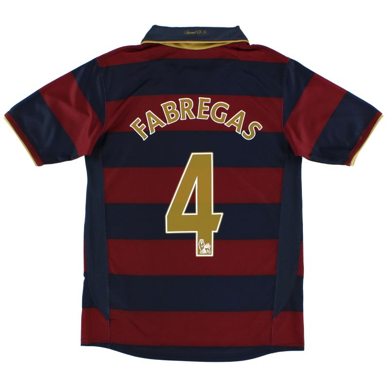 2007-08 Arsenal Third Shirt Fabregas #4 M - 237869-600
