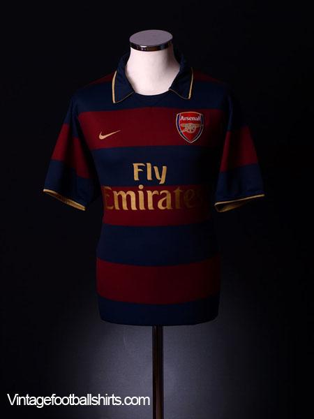 2007-08 Arsenal Third Shirt M.Boys