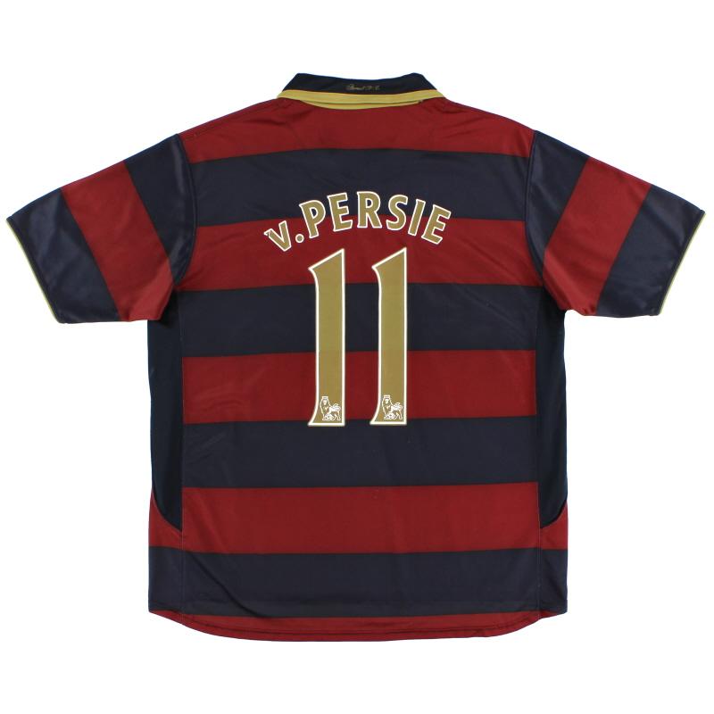 2007-08 Arsenal Third Shirt v.Persie #11 XL
