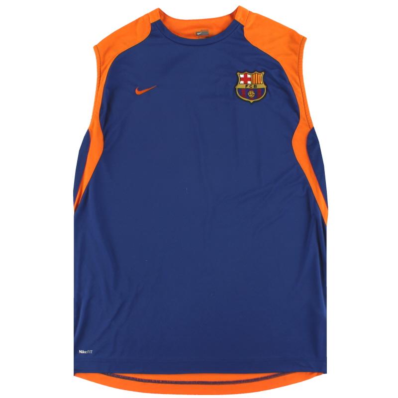 2007-08 Barcelona Nike Training Vest XL - 211989-425