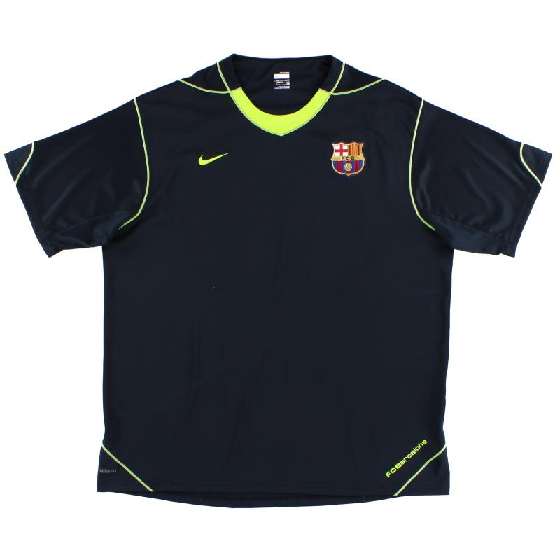 2007-08 Barcelona Training Shirt XXL