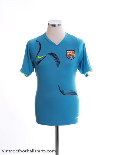 2007-08 Barcelona Training Shirt S