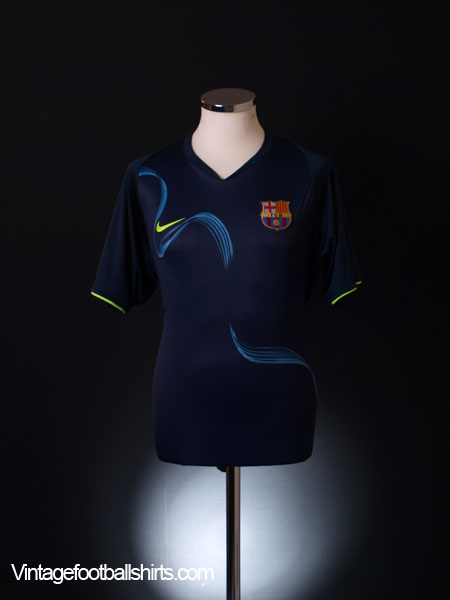 2007-08 Barcelona Training Shirt L