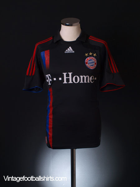 2007-08 Bayern Munich European Away Shirt S