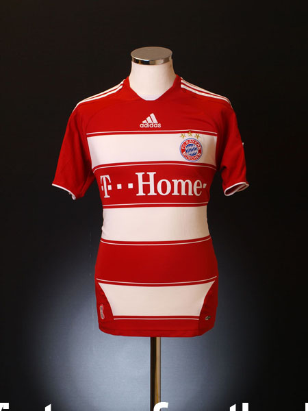 2007-08 Bayern Munich Home Shirt M