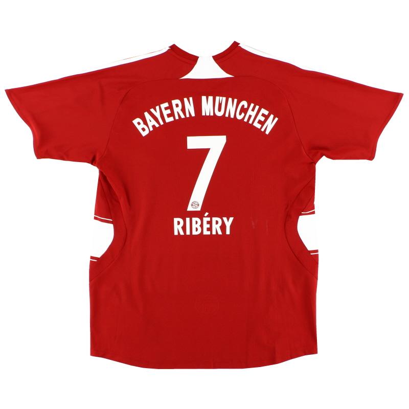 2007-08 Bayern Munich Home Shirt Ribery #7 S