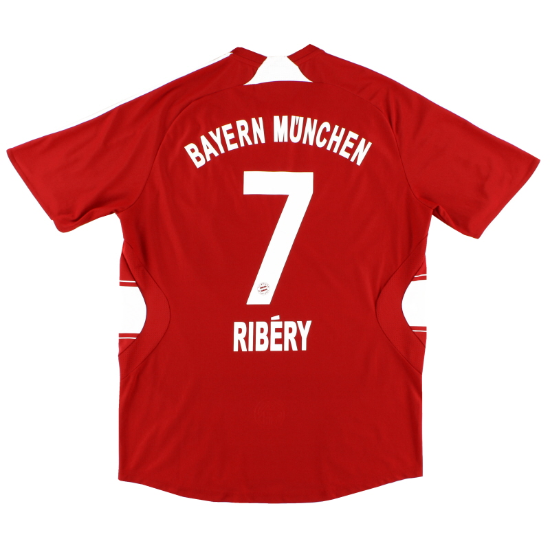 2007-08 Bayern Munich Home Shirt Ribery #7 M