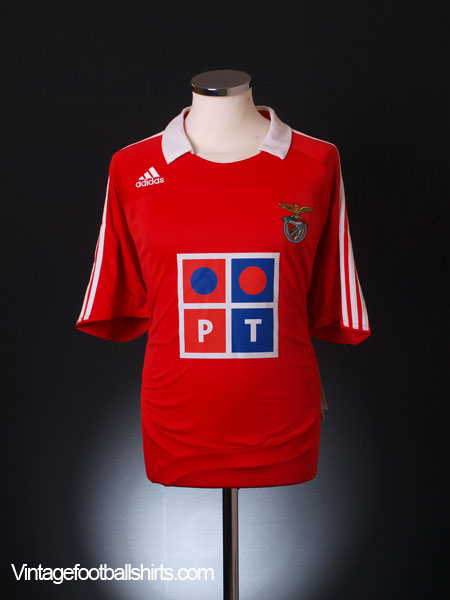 2007-08 Benfica Home Shirt *BNIB* L