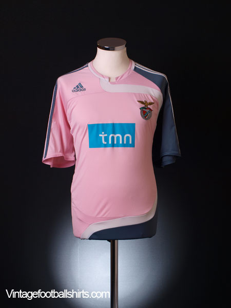 2007-08 Benfica Away Shirt M