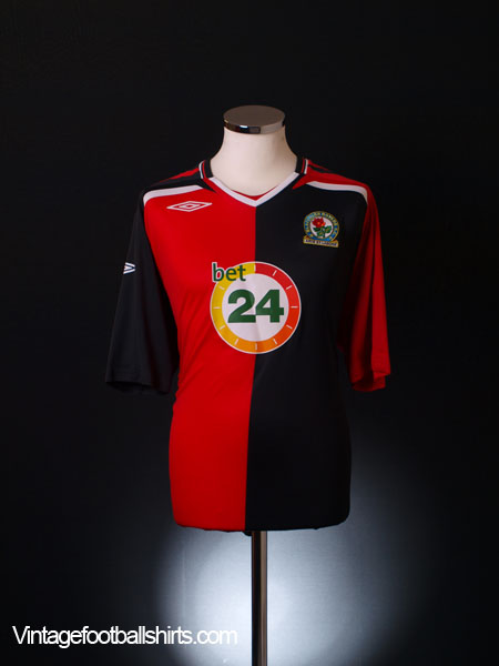 2007-08 Blackburn Away Shirt XL