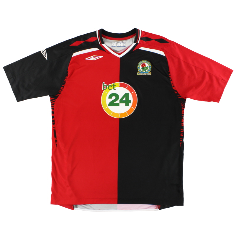 2007-08 Blackburn Umbro Away Shirt XL