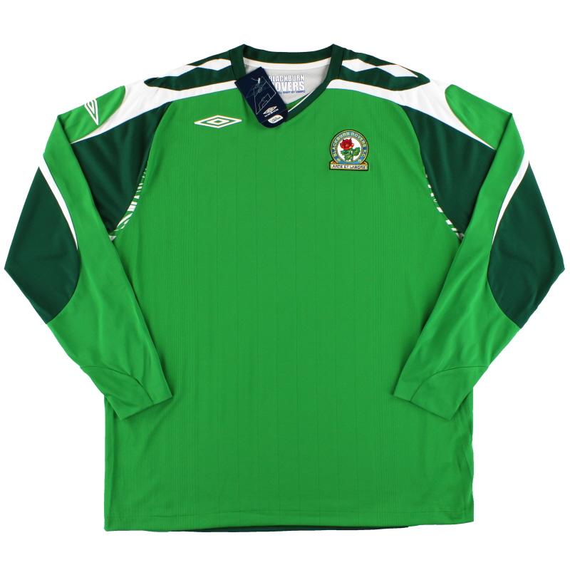 2007-08 Blackburn Umbro Goalkeeper Shirt *w/tags* XXL