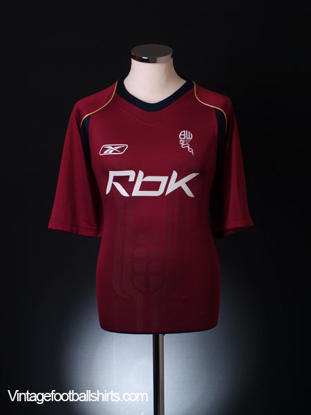 2007-08 Bolton Third Shirt XXL
