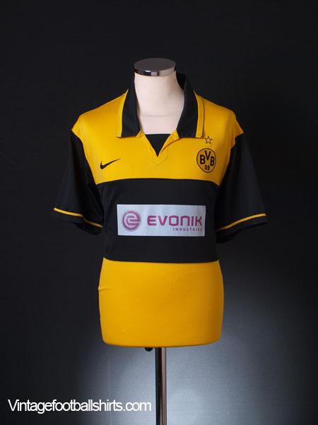 2007-08 Borussia Dortmund Home Shirt XL