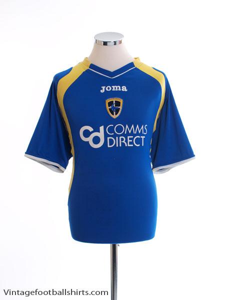 2007-08 Cardiff City Home Shirt L