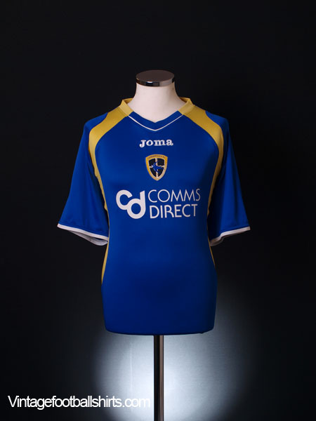 2007-08 Cardiff City Home Shirt L