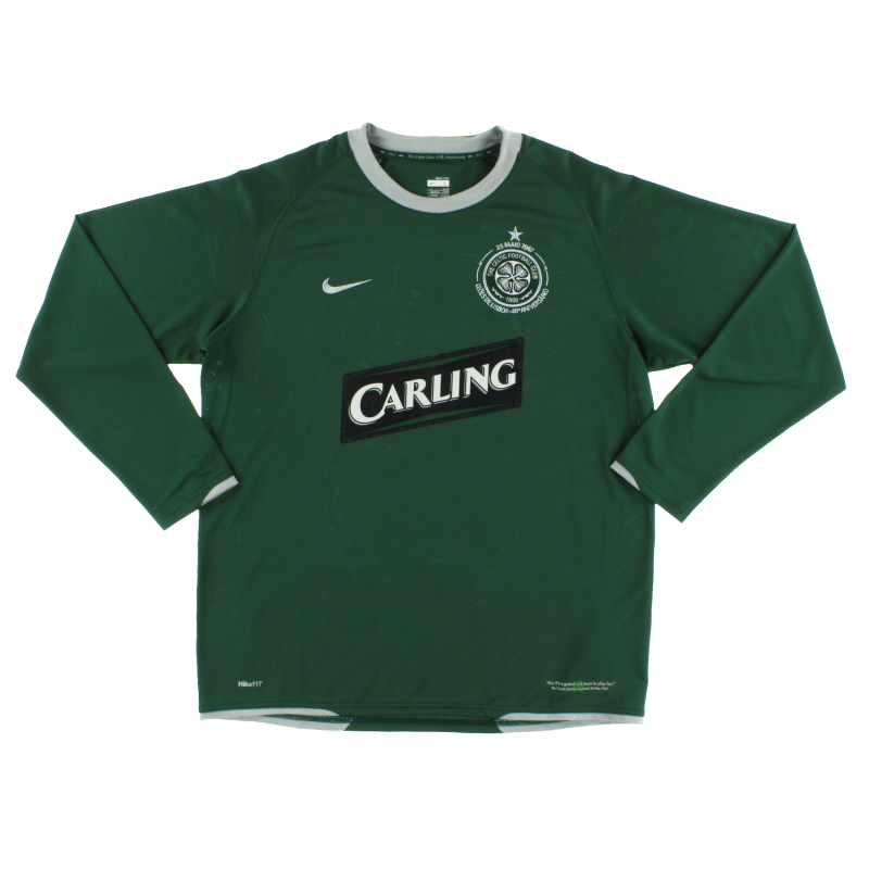2007-08 Celtic Away Shirt L/S L - 237901-310