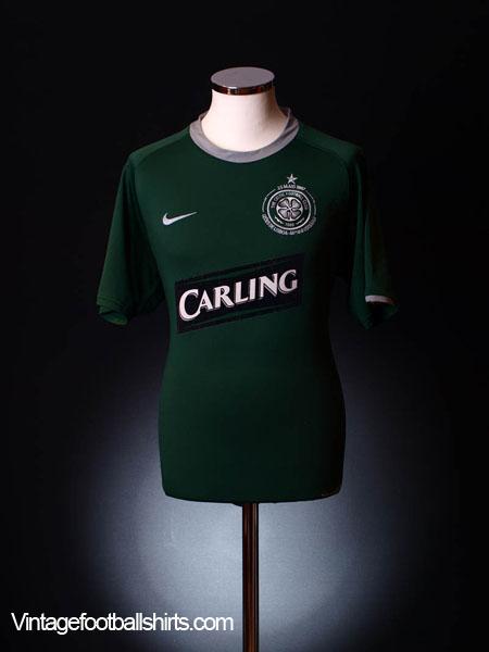 2007-08 Celtic Away Shirt M