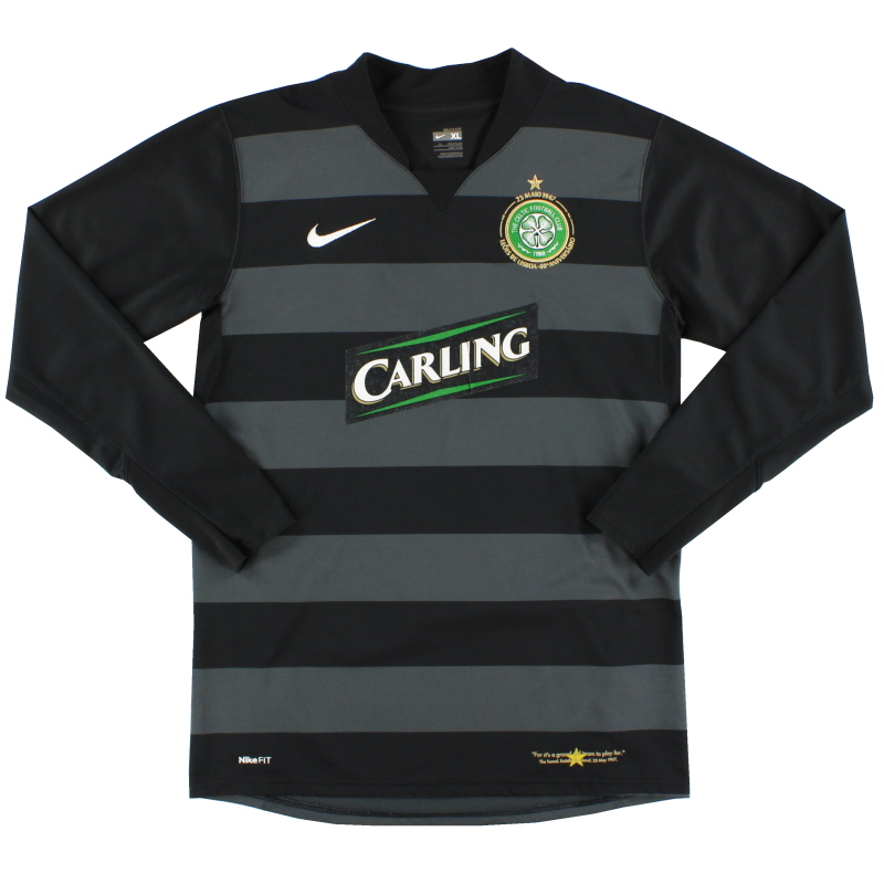2007-08 Celtic Goalkeeper Shirt XL.Boys - 237913-010