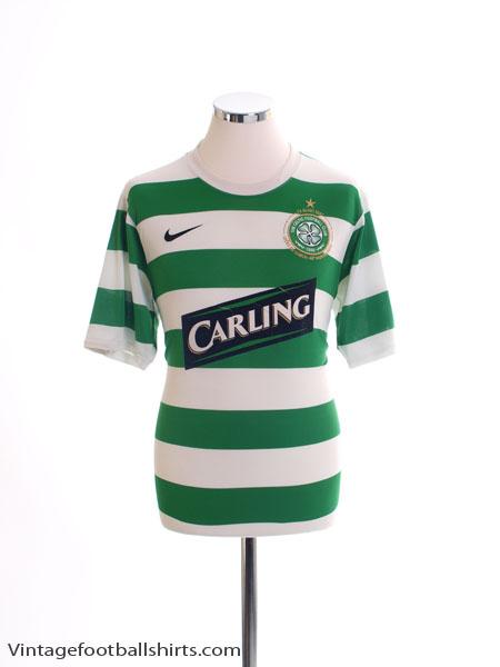 2007-08 Celtic Home Shirt M